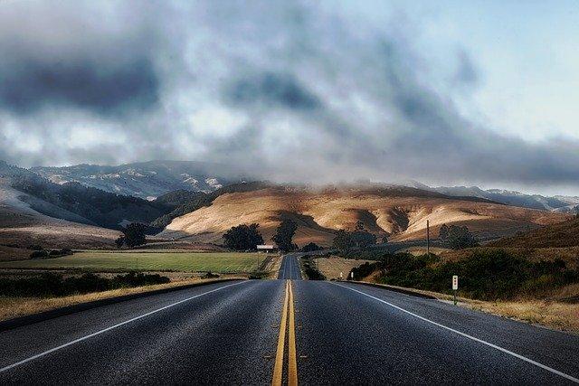holowanie na autostradzie